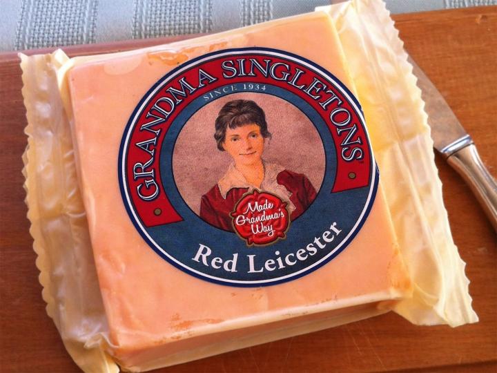 Grandma Singleton's Red Leicester