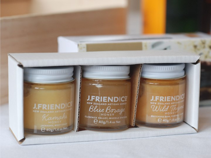 J Friend and Co Cheese pairing honey