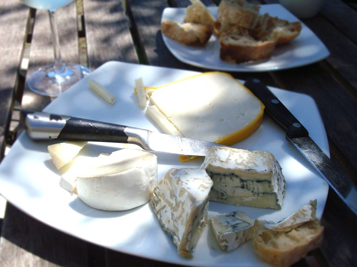 Gruff Junction cheese platter