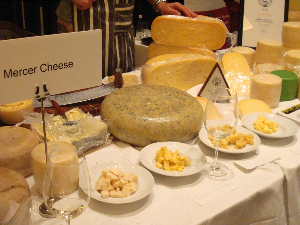 2013 cheesefest and nz cheese awards life and cheese for Aroha new zealand cuisine menu