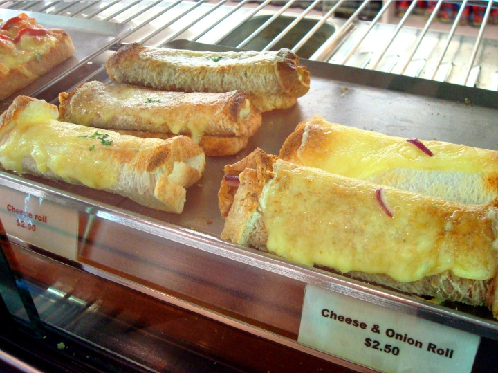 South Island Cheese rolls
