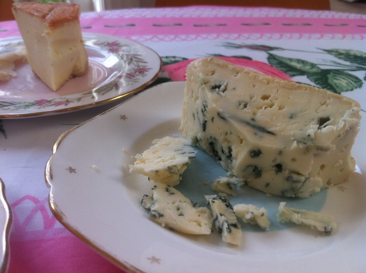 Mmm the best Roquefort they had - I love the King of Cheeses