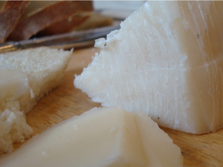 Pecorino Dolce de Sardegne - a soft, smooth young cheese.