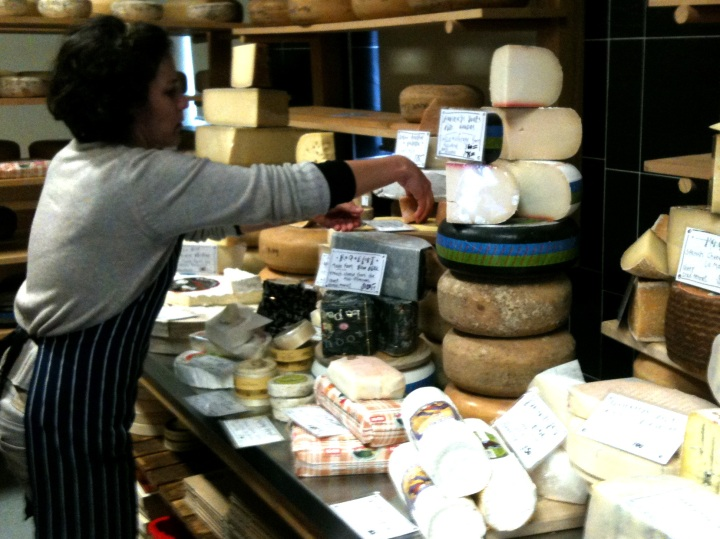 Generous and chatty tastings- the mark of a great cheese store.