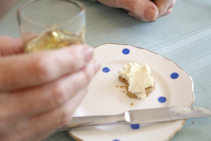 Glenmorangie and Cream cheese