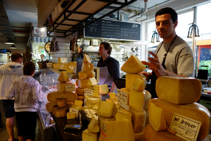 Make sure you ask these guy for tastes - they're passionate about cheese.