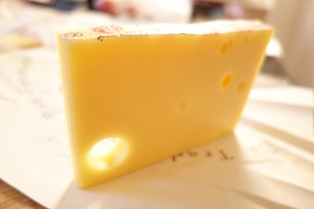 Sunny Emmental - a classic Swiss cheese