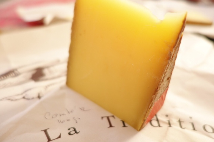 Comte - complex and creamy with fruity nutty flavours - France's most popular cheese