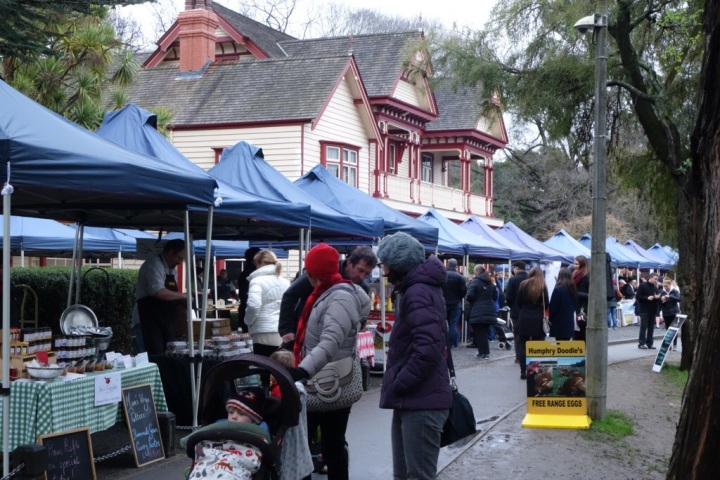Christchurch Farmers Market at Riccarton