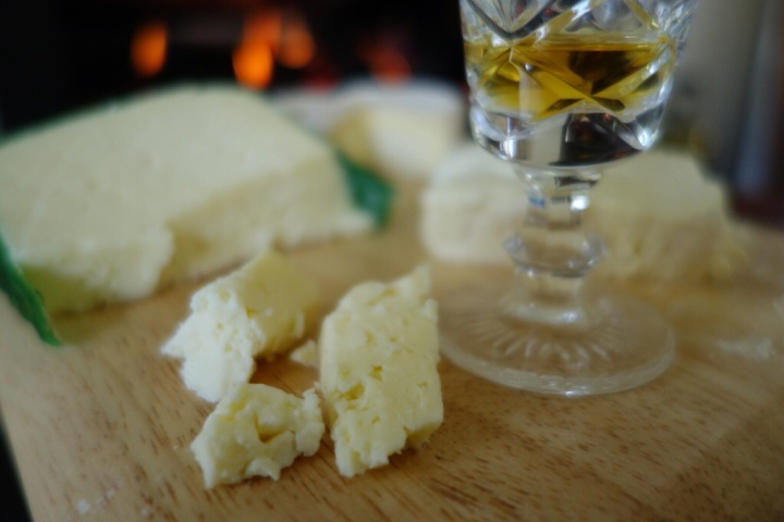 Lemony bursts of light paired well with a wee drop of whiskey to warm on a cold winter's day.